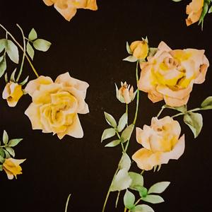 薔薇。花柄