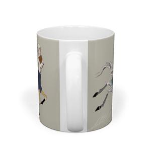 ケンタウロスのマグカップ(グレー)