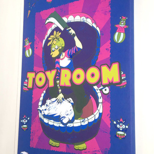 TOY ROOM 【A2 CANVAS PANEL】