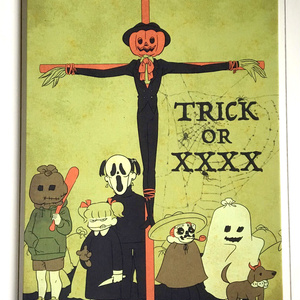 Trick or... 【A2 CANVAS PANEL】