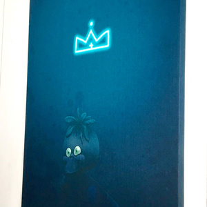 A KING 【A2 CANVAS PANEL】