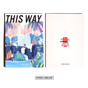 ア・メリカ画集「This Way」COMITIA130 Artbook
