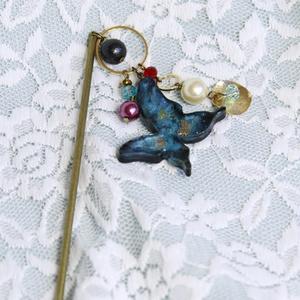 新宿のアーチャー 蝶付簪