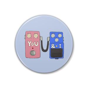 缶バッジ丸型(YOU&I)