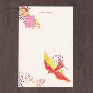 ポストカード(2枚セット) 「桃色のキリン」