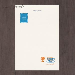 ポストカード(2枚セット) 「Tea time」