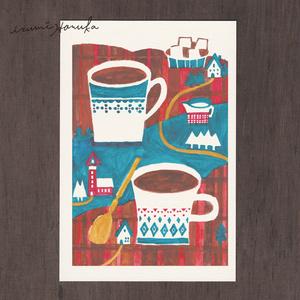 ポストカード(2枚セット) 「コーヒーブレイク」