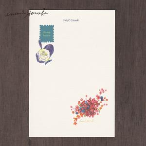 ポストカード(2枚セット)  「flower」