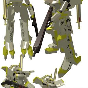【オリジナル3Dモデル】アトレイグ(Atoreigu)