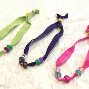 Division character ribbon bracelet