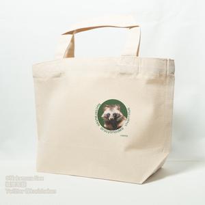 キャンバストートバッグ(タヌキ・キツネ)