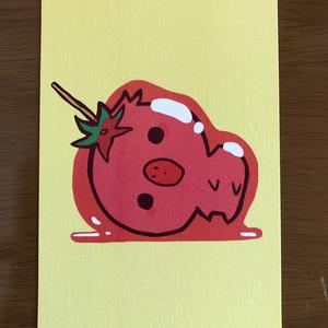 とり(もどき)ポストカード3種類セット