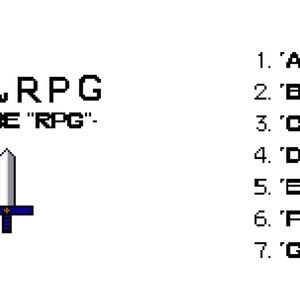 【オリジナルアルバム】たぶんRPG