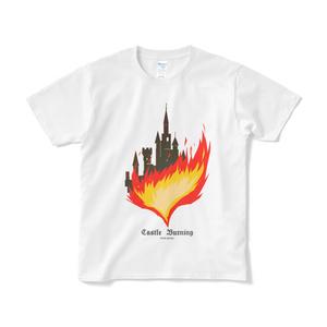 キャッスルバーニングTシャツ(白)