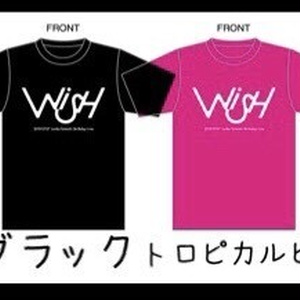 WISH  オリジナルTシャツ(全4色・S/M/L/XL/XXL)