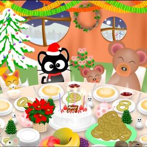 ポストカード101 Happy Christmas