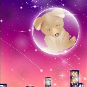 ポストカード132 星になった犬たち