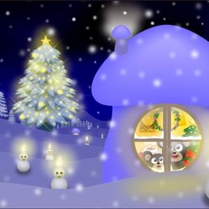 ポストカード133 Deep Blue Christmas