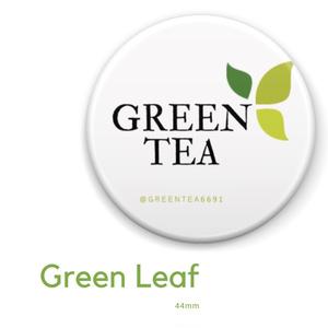 Green tea LOGO badge