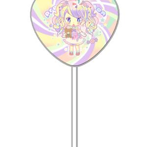 ハートキャンディカンバッチ お菓子姫