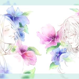 再録イラスト集_「[kaihouku.]side:illustration #02」