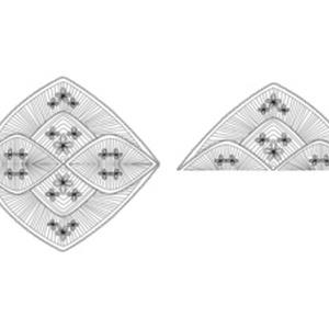 レース素材 1-1~3-2/Lace materials 1-1 to 3-2