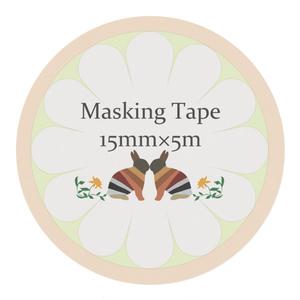 2匹のうさぎマスキングテープ