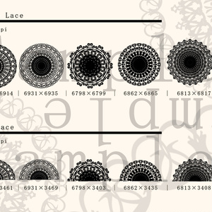 レース素材4/Lace material 4