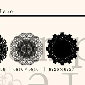 レース素材5/Lace material 5