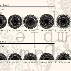 レース素材7/Lace material 7
