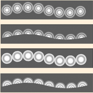レースブラシ(Photoshop)/Lace brush (Photoshop)