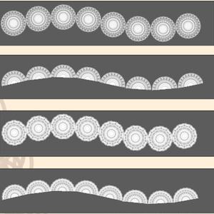 レースブラシ 3(Photoshop)/Lace brush 3 (Photoshop)