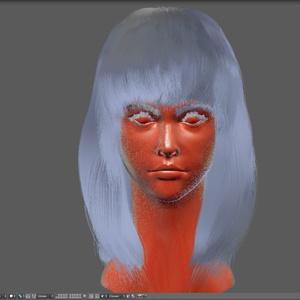 [無料お試し版] Blender顔の作例本 Blenderだけを使って顔を作るチュートリアル