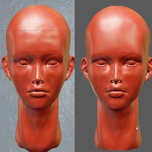 Blender顔の作例本 Blenderだけを使って顔を作るチュートリアル