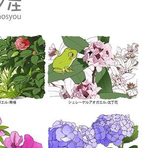 蛙暦 ポスター