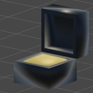 指輪ケース 3Dモデル