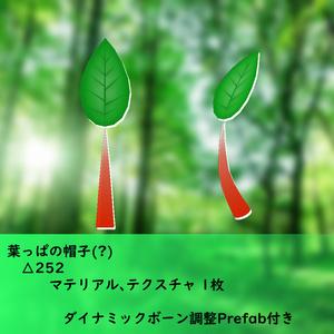 3Dモデル 葉っぱの帽子(?)