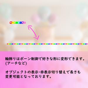3Dモデル お誕生日セット