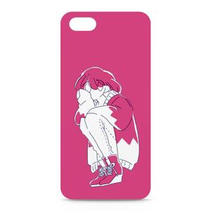 雨式スニーカー女子 iPhoneケース