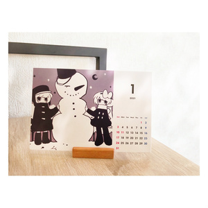 「ロシェ&ツィロ」卓上カレンダー