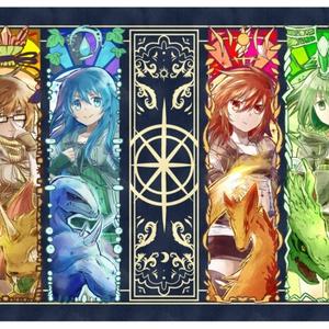 六霊使いプレイマット