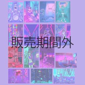 【NEW】ネオンポストカード