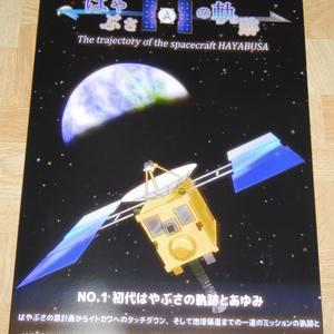 探査機はやぶさの軌跡 No.1 初代はやぶさの軌跡とあゆみ
