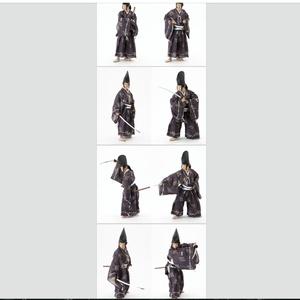 【データ版】ポーズ写真集 直垂(上級)