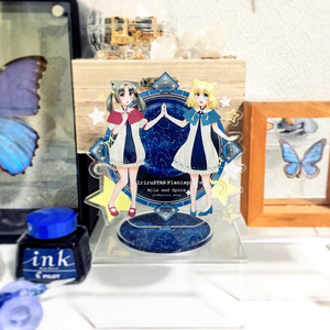 【自家通販】【オリジナル】うちの子スピカ/ミラ アクリルスタンドフィギュア