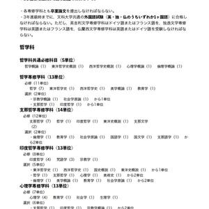 東京帝国大学全学科課程要覧 1918-1919