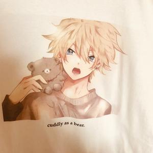 くまとしゅんくんTシャツ