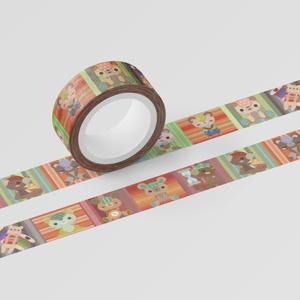 くまちゃんマスキングテープ。其の3【15㎜巾5m】