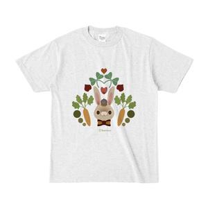 うさちゃんTシャツ (にんじん)