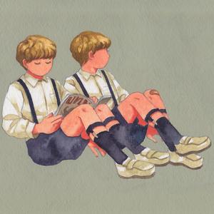 【原画】双子